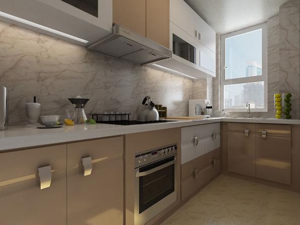 欧式新古典主义公寓装修效果图样板