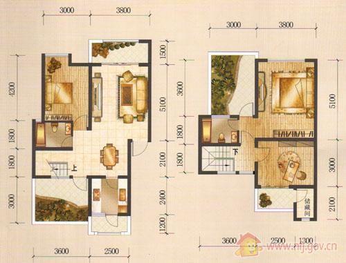 三室二厅二卫_户型列表_南充房产信息网